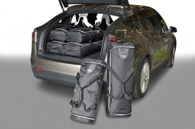 Car-Bags Tesla Model X Reisetaschen-Set ab 2015 | 3x71l + 3x52l