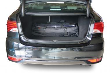 Car-Bags Toyota Avensis Reisetaschen-Set III 2008-2015 (4T) | 3x75l + 3x50l