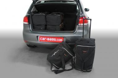 Car-Bags Volkswagen Golf VI Reisetaschen-Set (5K) 2008-2012 | 3x62l + 3x35l