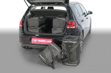 Car-Bags Volkswagen Golf VII Reisetaschen-Set inkl. e-Golf (5G) ab 2012 | 3x62l + 3x35l
