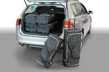 Car-Bags Volkswagen Golf VII Reisetaschen-Set (5G) Variant ab 2013 | 3x70l + 3x48l