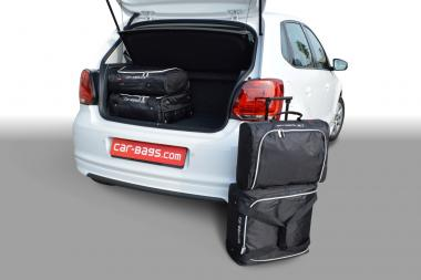 Car-Bags Volkswagen Polo V Reisetaschen-Set 6R & 6C (facelift) 2009-2017 (hoher Ladeboden) | 2x45l + 2x25l