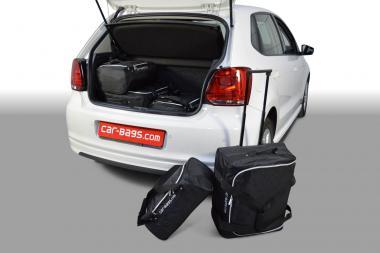 Car-Bags Volkswagen Polo V Reisetaschen-Set 6R & 6C (facelift) 2009-2017 (tiefer Ladeboden) | 2x63l + 3x28l