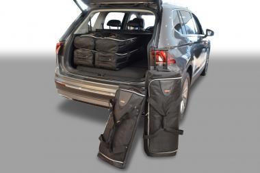 Car-Bags Volkswagen Tiguan II Reisetaschen-Set Allspace (7-Sitzer, 3. Sitzreihe umgeklappt) ab 2017 | 3x70l + 3x45l