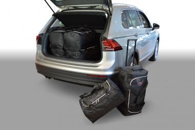 Car-Bags Volkswagen Tiguan II Reisetaschen-Set ab 2015 (tiefer Ladeboden) | 3x76l + 3x54l