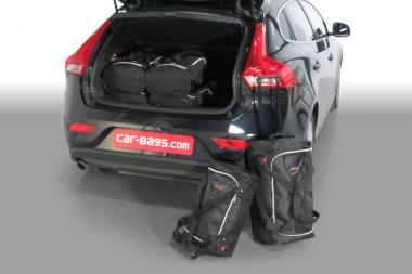 Car-Bags Volvo V40 Reisetaschen-Set (P1) ab 2012 5T | 3x47l + 3x29l