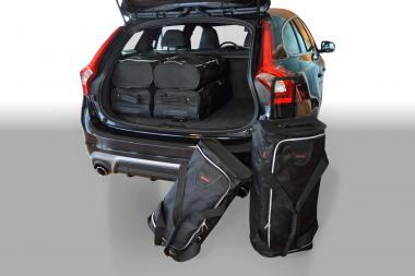 Car-Bags Volvo V60 Reisetaschen-Set 2010-2018   3x63l + 3x38l