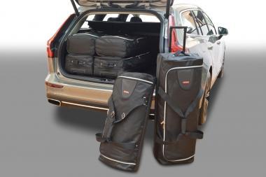 Car-Bags Volvo V60 Reisetaschen-Set ab 2018 inkl. Plug-in-Hybrid   3x75l + 3x 50l