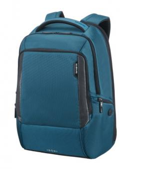 "Samsonite Cityscape Tech LP Laptop Backpack Exp. 17.3"" Petrol Blue"