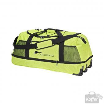Cocoono Twister Reisetasche XL zusammenrollbar grün
