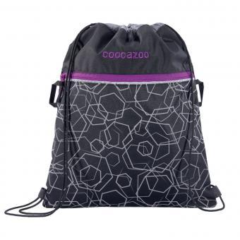 Coocazoo RocketPocket2 Sportbeutel 2019-2020 Laserreflect Berry