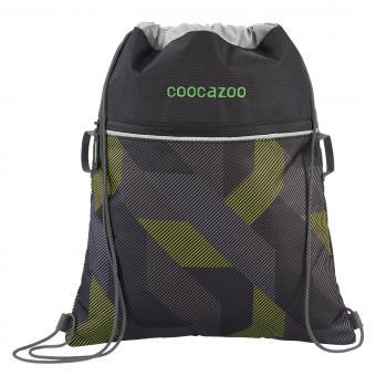 Coocazoo RocketPocket2 Sportbeutel 2019-2020 Polygon Bricks Grey