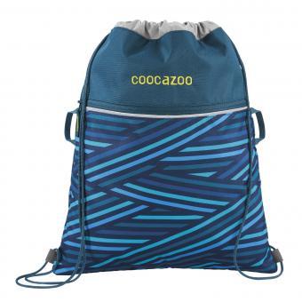 Coocazoo RocketPocket2 Sportbeutel 2019-2020 Zebra Stripe Blue