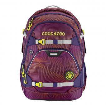 Coocazoo ScaleRale Schulrucksack 2019/2020 Soniclights Purple