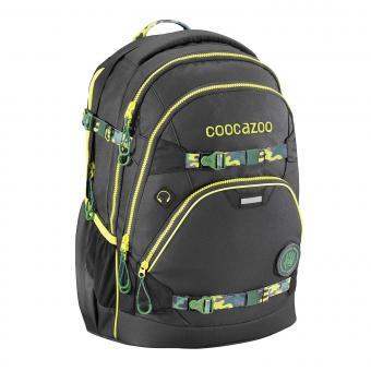 Coocazoo e-ScaleRale TecCheck Limited Edition Schulrucksack Black