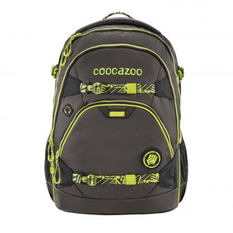 Coocazoo e-ScaleRale TecCheck Limited Edition Schulrucksack Neon Yellow