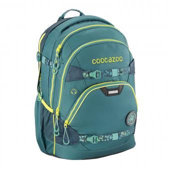 Coocazoo e-ScaleRale TecCheck Limited Edition Schulrucksack Petrol