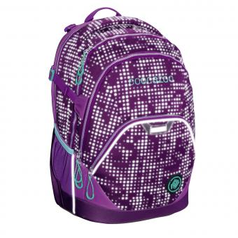 Coocazoo Schulrucksäcke EvverClevver 2 Rucksack *EffectiveReflective Edition* Purple Galaxy Reflective