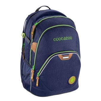 Coocazoo Schulrucksäcke EvverClevver 2 Rucksack *Jeans Dreams Limited Edition* Denim Blue