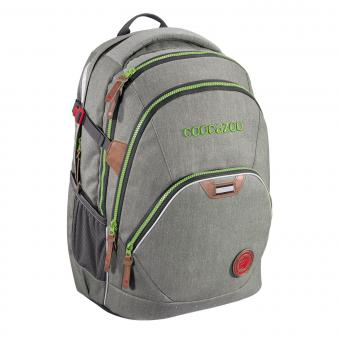 Coocazoo Schulrucksäcke EvverClevver 2 Rucksack *Jeans Dreams Limited Edition* Denim Grey