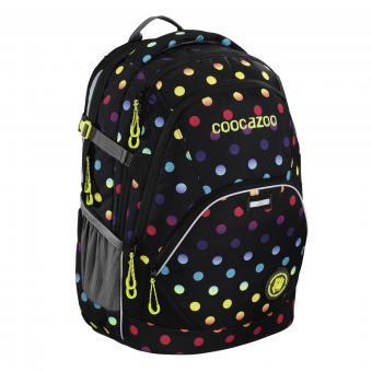Coocazoo Schulrucksäcke EvverClevver 2 Rucksack MatchPatch Magic Polka Colorful