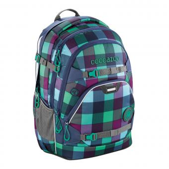 Coocazoo ScaleRale MatchPatch Schulrucksack Green Purple District