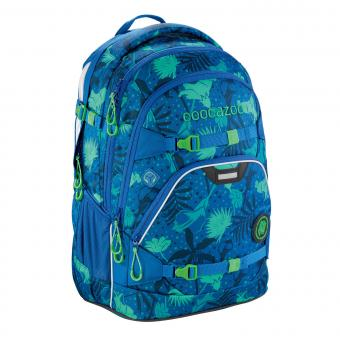 Coocazoo ScaleRale MatchPatch Schulrucksack Tropical Blue
