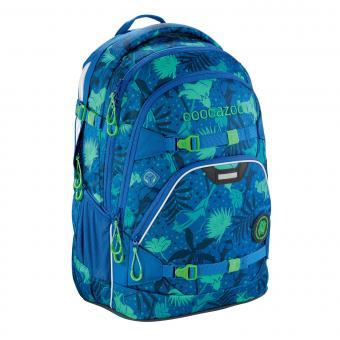 Coocazoo Schulrucksäcke ScaleRale Rucksack MatchPatch Tropical Blue