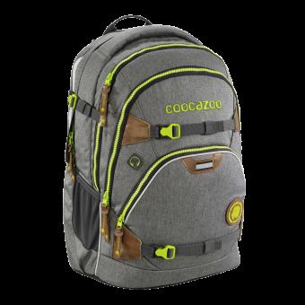 Coocazoo ScaleRale *Mixed Melange Limited Edition* Schulrucksack Darkgrey
