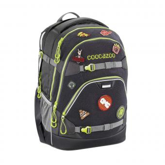 Coocazoo ScaleRale *Patchy* Limited Edition Schulrucksack Black