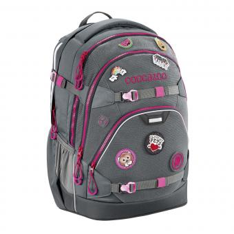 Coocazoo ScaleRale *Patchy* Limited Edition Schulrucksack Grey