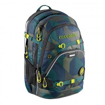 Coocazoo ScaleRale MatchPatch Schulrucksack Polygon Bricks