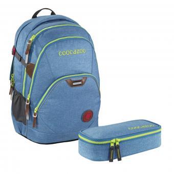 Coocazoo Schulrucksäcke Set EvverClevver 2 - 2-teilig *Limited Edition* Skyblue Melange