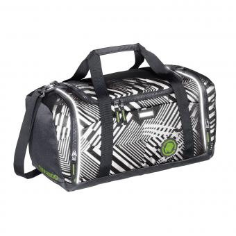 Coocazoo Taschen Sporttasche SporterPorter *EffectiveReflective Edition* Black Track Reflective