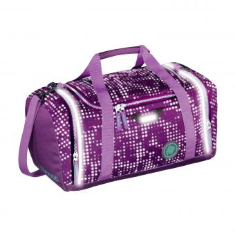 Coocazoo Taschen Sporttasche SporterPorter *EffectiveReflective Edition* Purple Galaxy Reflective