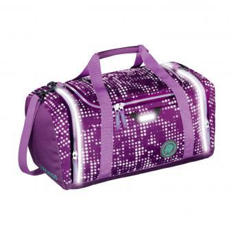 Coocazoo Taschen Sporttasche SporterPorter *EffectiveReflective Edition* Purple Galaxy Reflective