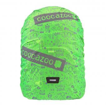 Coocazoo WeeperKeeper Reflektierende Regenhülle Green-Reflect