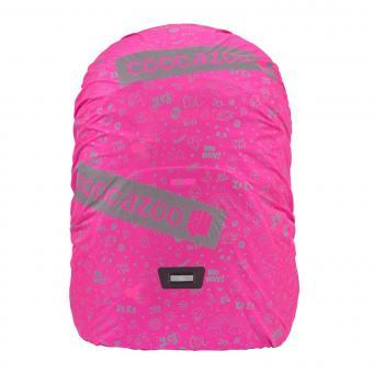 Coocazoo WeeperKeeper Reflektierende Regenhülle Pink-Reflect