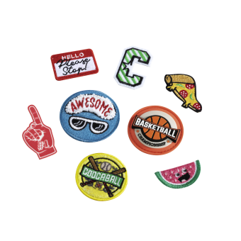 Coocazoo StyleTyle Patches-Set 8-teilig Sport