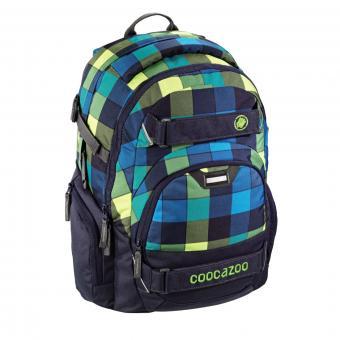 Coocazoo Schulrucksäcke CarryLarry 2 Rucksack Lime District