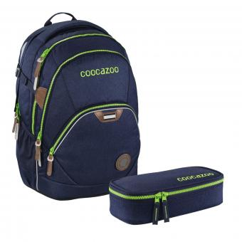 Coocazoo Schulrucksäcke Set EvverClevver 2 - 2-teilig *Limited Edition* Navy Melange