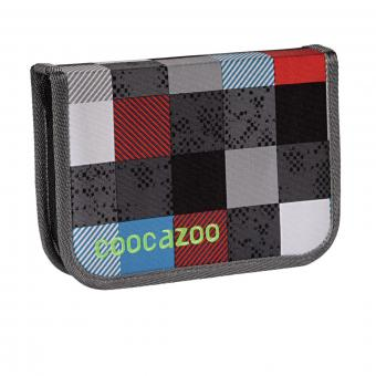 Coocazoo Mäppchen Federmäppchen PenSam Checkmate Blue Red