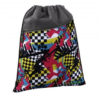 Coocazoo Taschen Sportbeutel RocketPocket Checkered Bolts