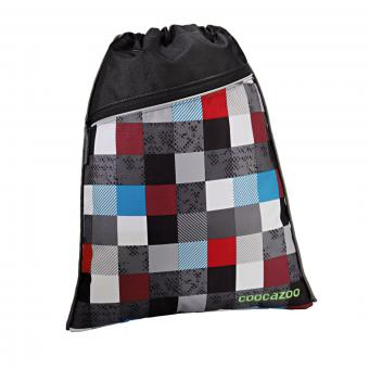 Coocazoo Taschen Sportbeutel RocketPocket Checkmate Blue Red