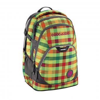 Coocazoo Schulrucksäcke EvverClevver 2 Rucksack Hip To Be Square Green