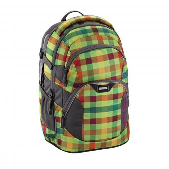 Coocazoo JobJobber2 Schulrucksack Hip To Be Square Green