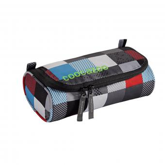 Coocazoo Mäppchen Schlamperetui RollerCoaler Checkmate Blue Red