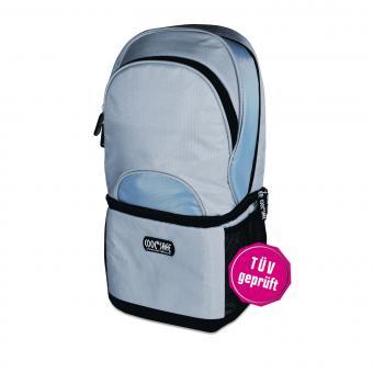 Cool Safe Rucksack Pro mit integr. Medizin-Kühltasche silber