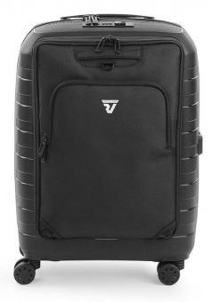 Roncato D-BOX Cabin Trolley + Abnehmbare Vordertasche schwarz