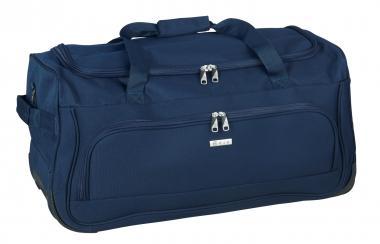 d&n Bags & More Rollenreisetasche 2w 7713 blau